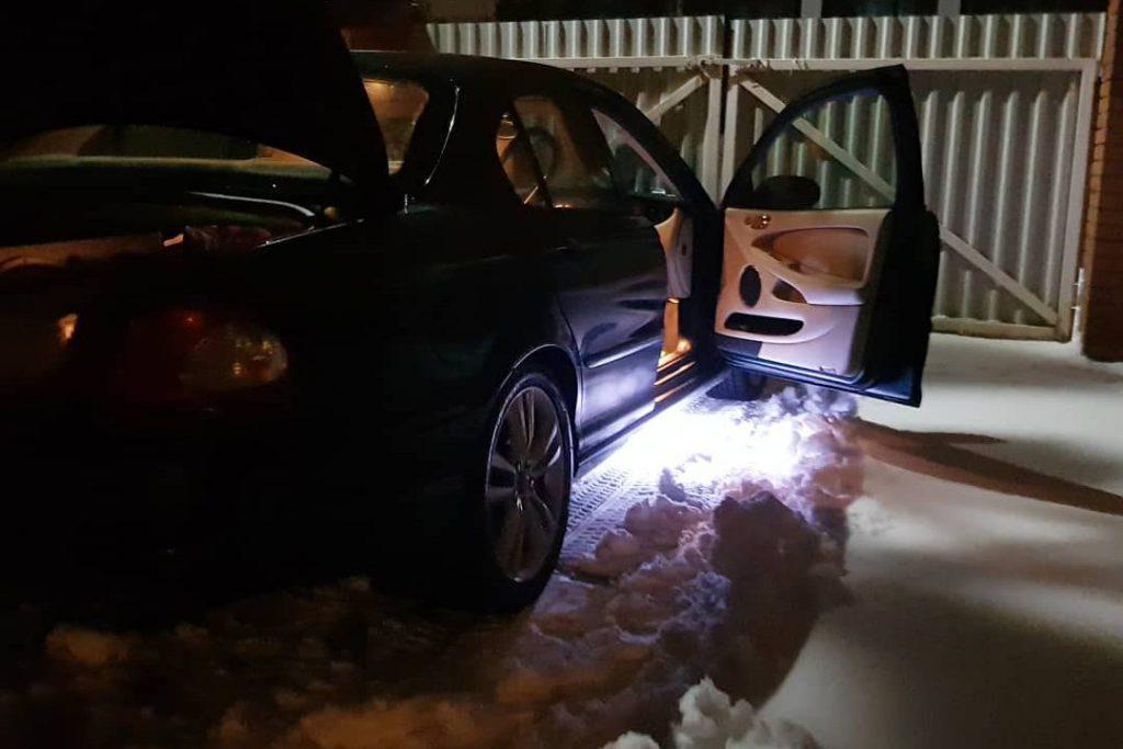 Smart puddle lights
